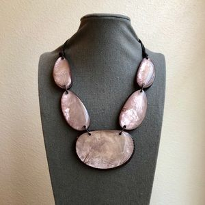 NWT Large Lavender Necklace